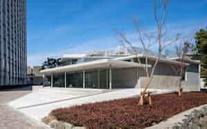 名大の新施設は国際会議を開催できる多目的ホールを持つ(名古屋市)
