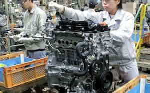 新型コロナによる欧米の需要減が直撃する(広島市の本社工場)