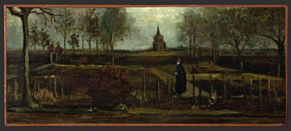 オランダ中部ラーレンのシンガー・ラーレン美術館から盗まれたゴッホの絵画(フローニンゲンの美術館提供)=AP