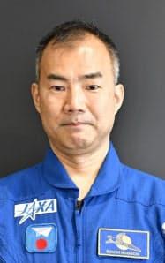 日本人飛行士の野口聡一さん