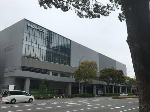 ぴあアリーナMMも4月25日に予定通り開業できるかは不透明だ(横浜市)