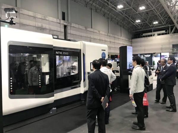 新型コロナウイルスの感染拡大で工作機械の受注環境が悪化している(2019年、名古屋市)