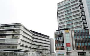 千葉駅西口の商業施設や病院など計3棟が竣工した(31日)