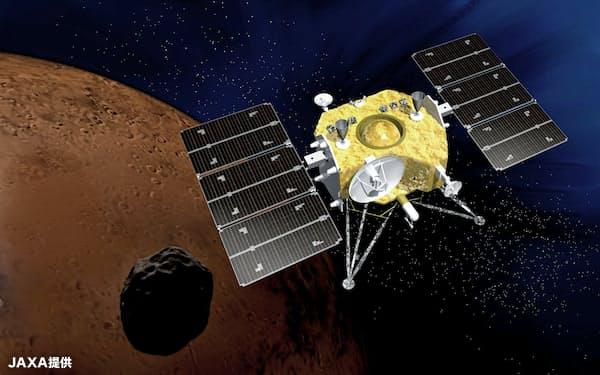 火星衛星探査計画「MMX」のイメージ=JAXA提供
