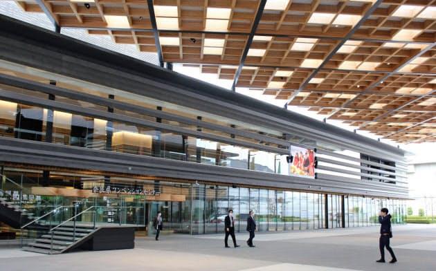 1日開業した「奈良県コンベンションセンター」(奈良市)