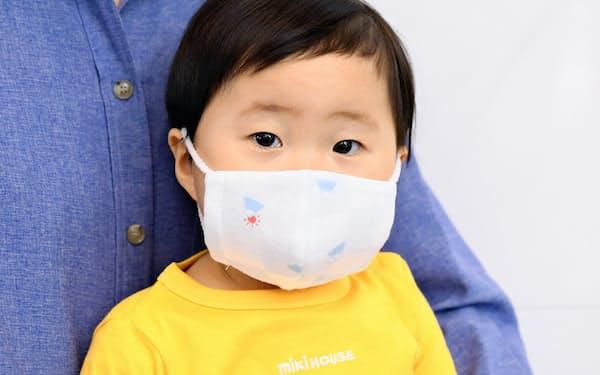 ミキハウスが販売する子供用マスク