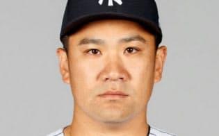 ヤンキースの田中将大投手=ゲッティ共同