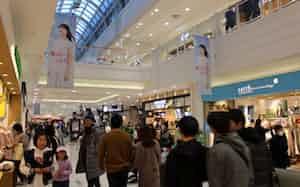 テナント賃料を減らし入居企業を支援する(岡山県内のイオンモール)