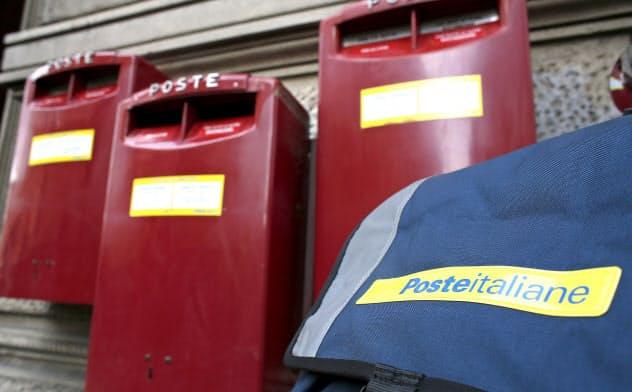 イタリアでは新型コロナによる死者数が欧州最多となっているが、郵便配達作業は通常通りだ=ロイター