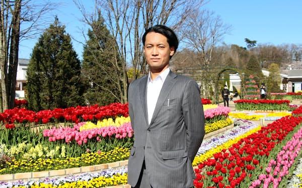 あしかがフラワーパークの運営会社の早川公一郎社長