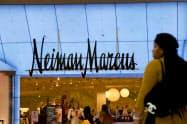 米高級百貨店のニーマン・マーカスに経営破綻の可能性が出ている(ペンシルベニア州の店舗)=ロイター