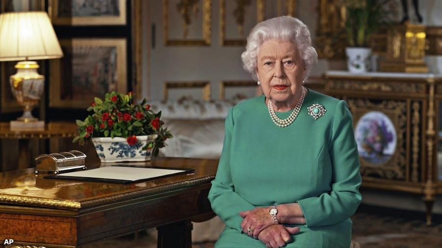 新型コロナ:英エリザベス女王「良い日々は戻る」 新型コロナで演説 ...