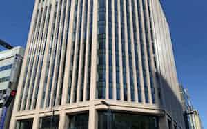 供給の少ない札幌で、新しく完成した複合ビル「大同生命札幌ビル」(26日、札幌市)