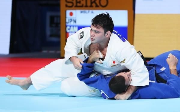 ウルフ・アロンは2017年に世界選手権、19年に全日本選手権を制しており、五輪に「3冠」達成が懸かる