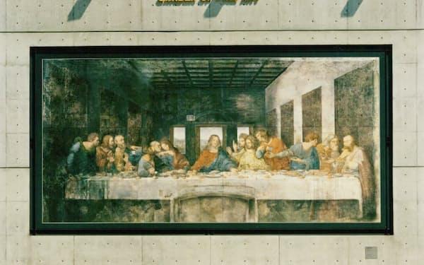 花博で展示された「最後の晩餐」