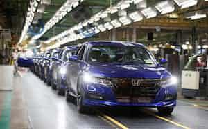 ホンダはオハイオ州などに持つ5つの完成車工場の従業員らを対象に一時帰休を始めた