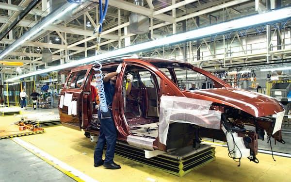 新型コロナの影響が雇用にも広がってきた(米ミシシッピ州にある日産の工場)