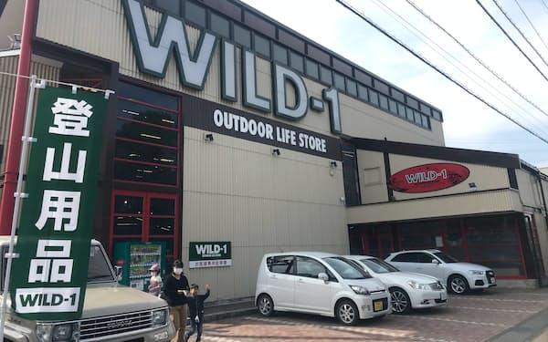 カンセキはアウトドア用品店全店で臨時休業や営業時間の短縮を実施する(宇都宮市)