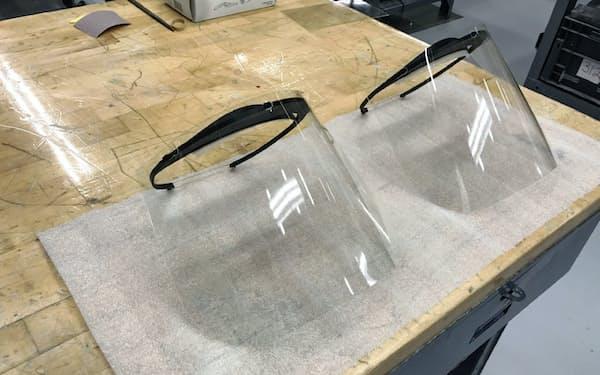 北米でトヨタ自動車が生産している防護マスク