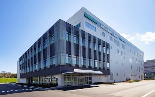 ビークルエナジージャパンの新工場が完成した