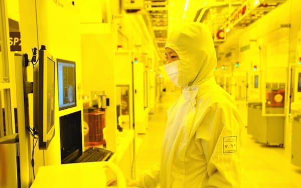 半導体市況は回復に転じているが……=サムスン電子提供