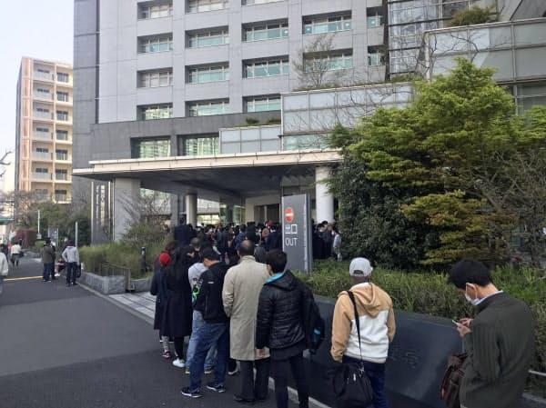 東京入国管理局(東京・港)