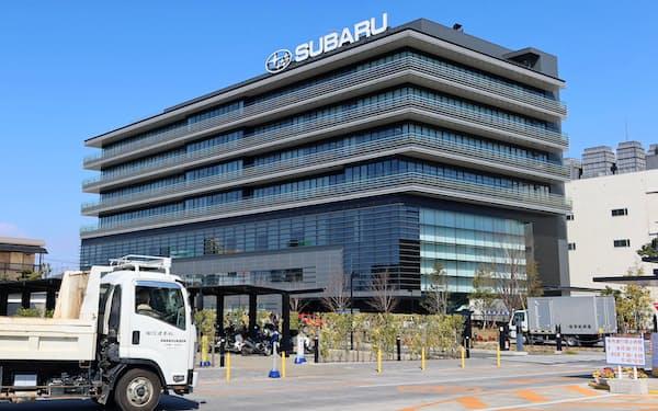 スバルは5月1日まで群馬製作所の生産を一時停止する(群馬県太田市)