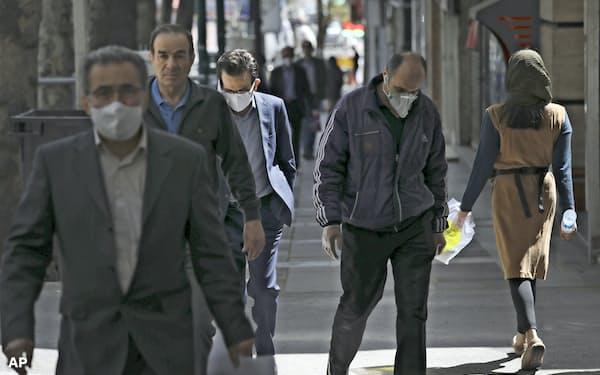 イランでは3月半ばからのイラン暦の新年休み「ノウルーズ」が終わった=AP