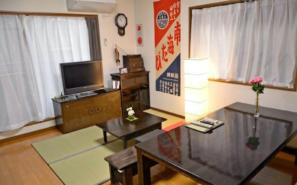 大阪市内には訪日客需要を期待した民泊施設が多い