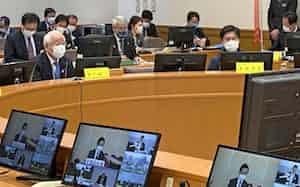 関西広域連合は府県を越えた人の移動を控えるよう呼びかけた