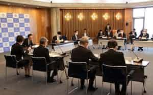 岡山県が開いた対策本部会議(8日)