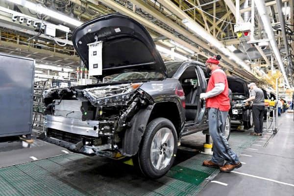 トヨタは北米の生産再開を5月初旬まで延期する(ケンタッキー州の完成車工場)