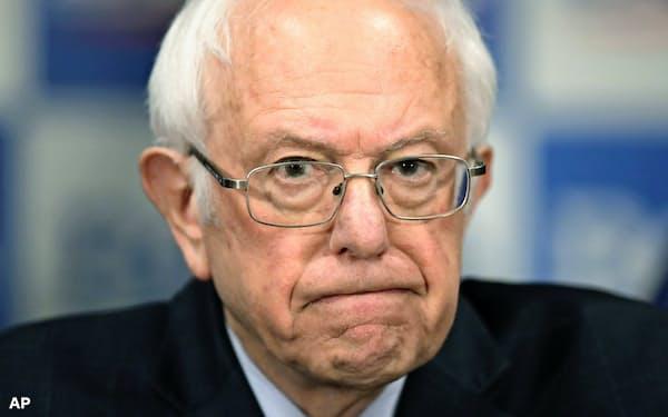 サンダース米上院議員は「正義を渇望する闘争は続く」と強調した=AP