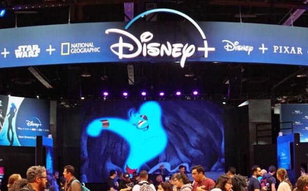 米ウォルト・ディズニーは20年後半に、日本でも動画配信サービス「ディズニープラス」を始める