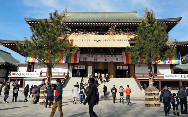 成田山新勝寺の大本堂(千葉県成田市)