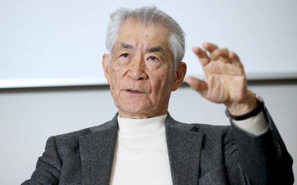 本庶佑 京都大学特別教授