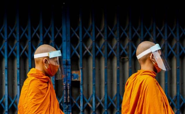タイで広まる社会的距離・新型コロナ