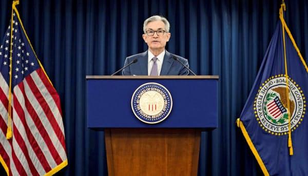 未踏の政策領域に踏み出した米連邦準備理事会(FRB)のパウエル議長=ロイター