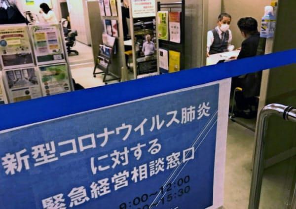 中小に着実にお金が届く仕組みづくりを急ぐ必要がある(3月、札幌市)