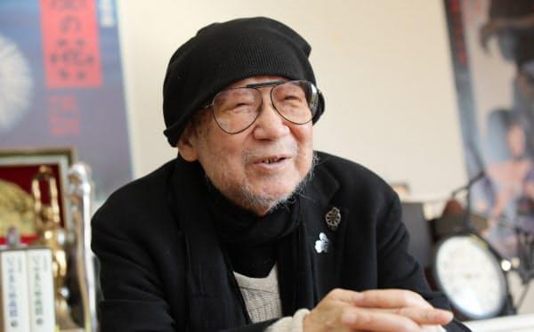映画監督の大林宣彦さん