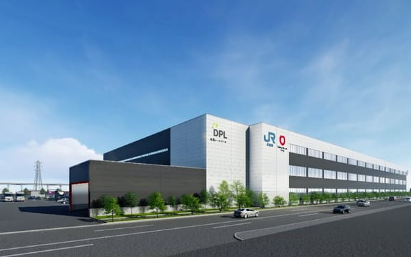 JR貨物は大和ハウスと組み、道内最大級のマルチテナント型物流施設を設ける(写真はイメージ)