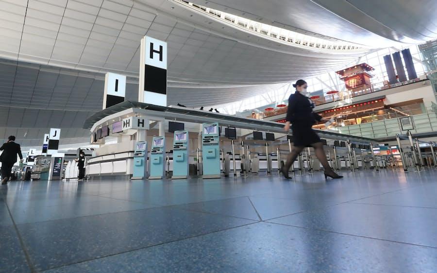 新型コロナ:GWの航空予約 国際線97%、国内線88%減に: 日本経済新聞