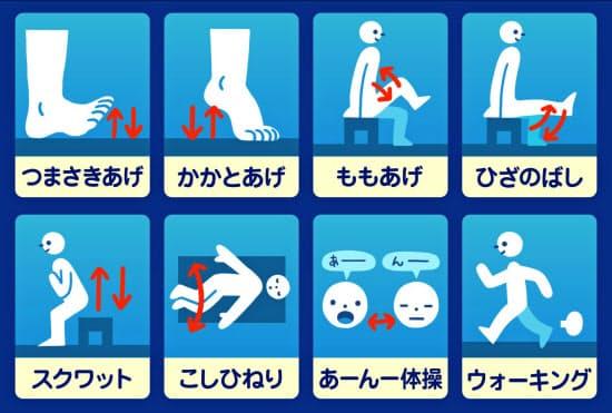 東京都健康長寿医療センターは、手軽に実践・記録できる「運動カウンター」を無料対話アプリのLINEで公開=同センター提供
