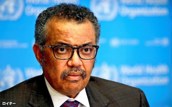 WHOのテドロス事務局長は米国に対ウイルスでの共闘を呼びかけた=ロイター