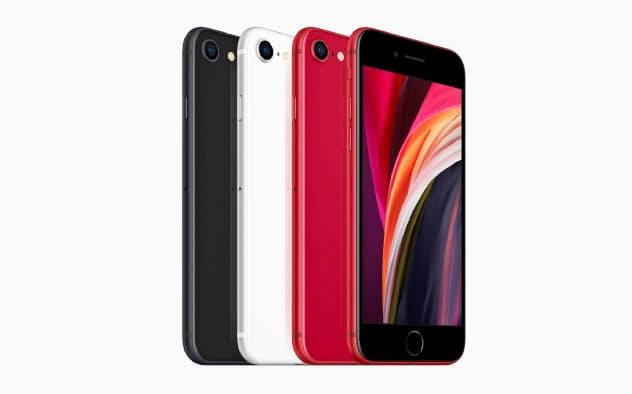 アップルが発表した新型iPhone SE(同社提供)