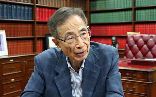 李柱銘氏は香港民主派の重鎮として知られている