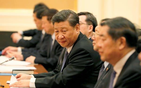 中国の習近平国家主席(1月18日)=ロイター