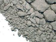 JFEは鉄鋼スラグからカルシウムなどを取り出す技術の開発を目指す(写真は鉄鋼スラグ)