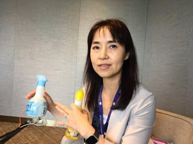 「日本の女性は大きな夢を持つべき」というP&Gの中村さん
