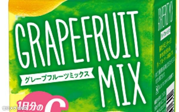 雪印メグミルクが発売した「Dole GRAPEFRUIT MIX(ドール グレープフルーツ ミックス)」